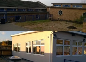 Netherton CofE Before and After