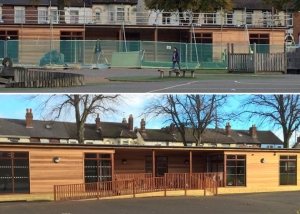 West Park Primary School Before After